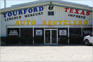 Yourford & Texas Auto Recyclers, Used Autoparts Dallas/Ft